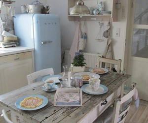 kitchen and vintage image