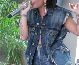 demi lovato, pool party, and cool for the summer image
