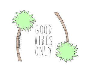 good vibes and transparent image