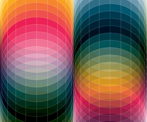 circles, colorful, and colors image