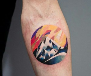 mountain tattoo and martyna popiel image