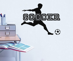 sports, sticker, and boys room image