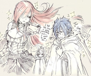 fairy tail, jerza, and erza scarlet image