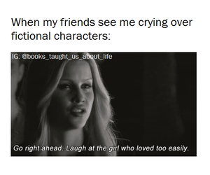 books, cry, and Vampire Diaries image