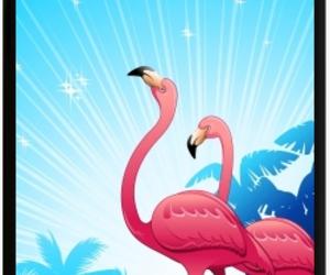 design, flamingos, and shopping image