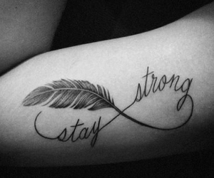 beautiful, stay strong, and black and white image