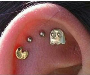 piercing and pacman image