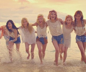 snsd, summer, and comeback image