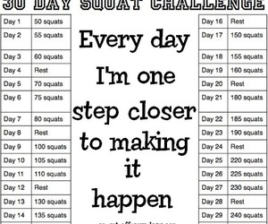 butt, workout, and squats challenge image