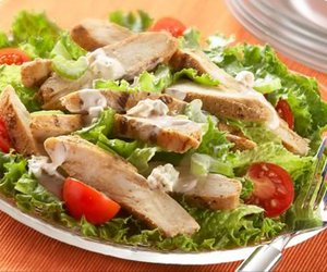 Chicken, health, and salad image