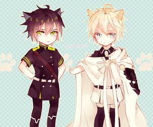boy, owari no seraph, and kawaii image