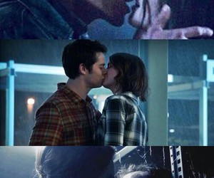 kisses, teen wolf, and love image