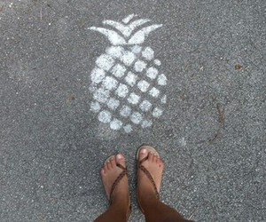 pineapple, street, and grunge image