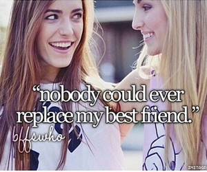 best friends, besties, and quotes image