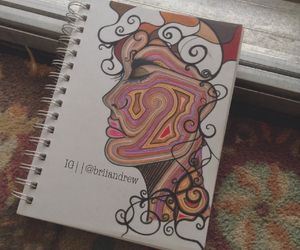 sketch, art, and artist image