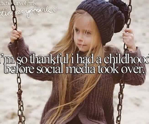 childhood, quote, and swing image