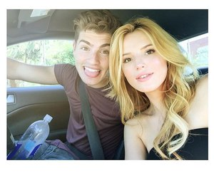 bella thorne, gregg sulkin, and love image
