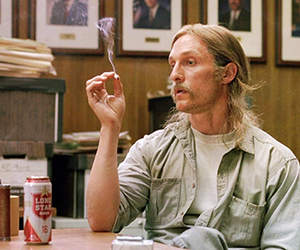 tv, true detective, and rust cohle image
