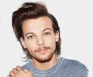 1d, one direction, and louis tomlinson image