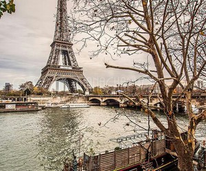 paris, france, and eiffel tower image