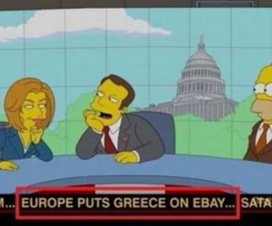 Greece, ebay, and simpsons image