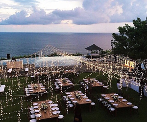 lights, wedding, and party image