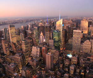 city, cityscape, and empire state image
