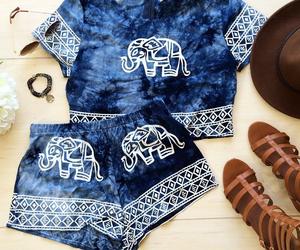 blue, elephant, and white image