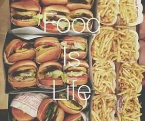 food, life, and love image