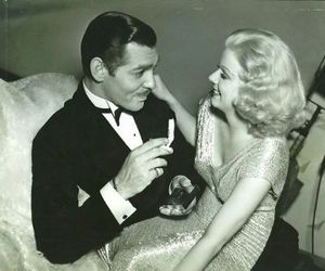 clark gable and jean harlow image