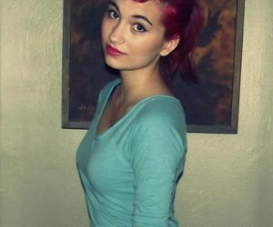 curl, red hair, and hair image