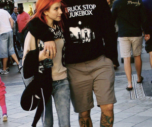 hayley williams, chad gilbert, and paramore image