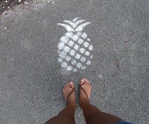 pineapple, street, and grunge image