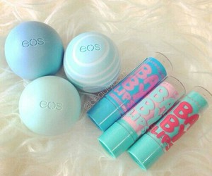 beauty, eos, and babylips image