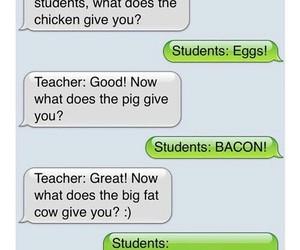 funny, teacher, and joke image
