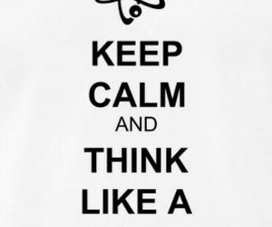 keep calm, positive, and slogan image
