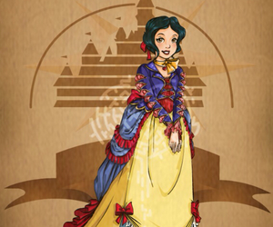 disney, snow white, and steampunk image