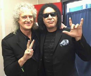 gene simmons, legends, and kiss band image