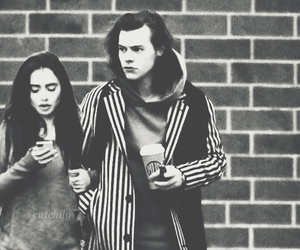 lily collins and Harry Styles image