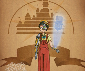 disney, pinocchio, and steampunk image