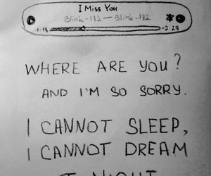 i miss you, blink 182, and blink-182 image