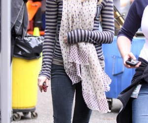 dots, scarves, and stripes image