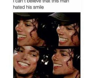 michael jackson, OMG, and smile image