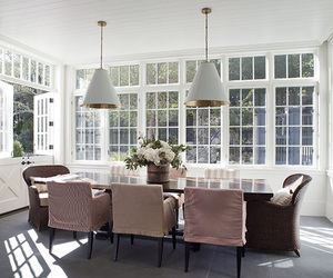 design, dining room, and home image
