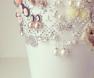 decor, earrings, and accessorize image