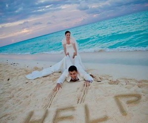 help, wedding, and couple image