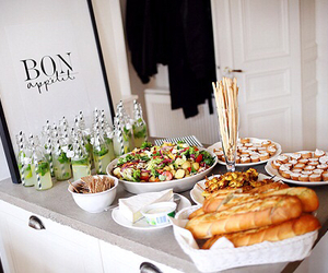 food, drink, and party image
