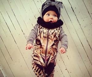 adorable, tiger, and animal print image