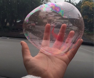 bubbles, grunge, and pale image