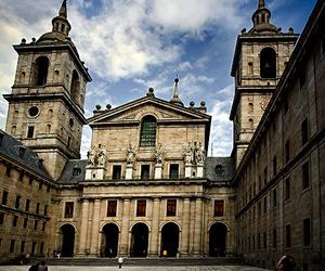 castle, escorial, and escorial monastery image